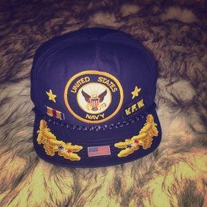 US navy snap back